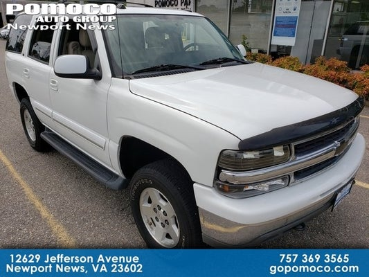 2005 chevrolet tahoe lt in newport news, va - pomoco cdjr of newport news